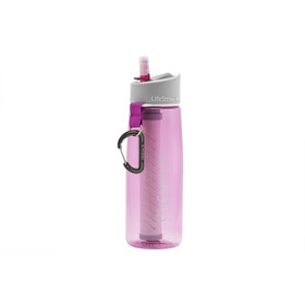 LifeStraw Go 2-Stage Drinking Bottle with Water Filter pink